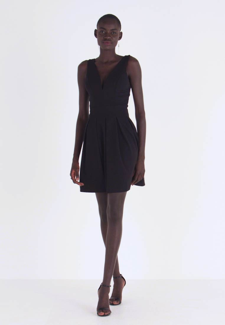 WAL G TALL - Vestito di maglina - black - 1