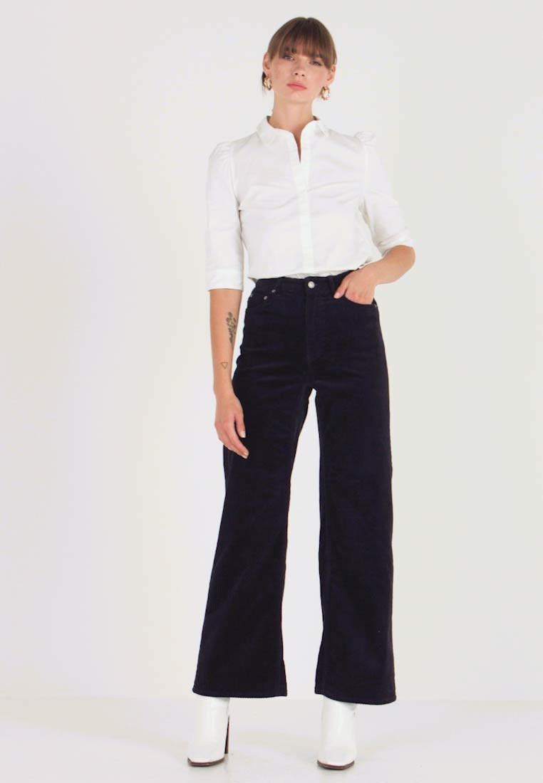 Weekday - TROUSERS - Pantalon classique - navy - 1