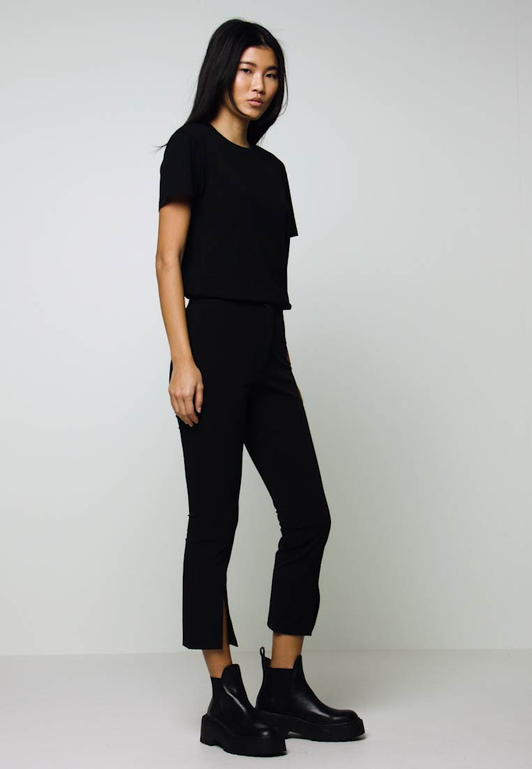 Weekday - TESS TROUSERS - Bukse - black - 1