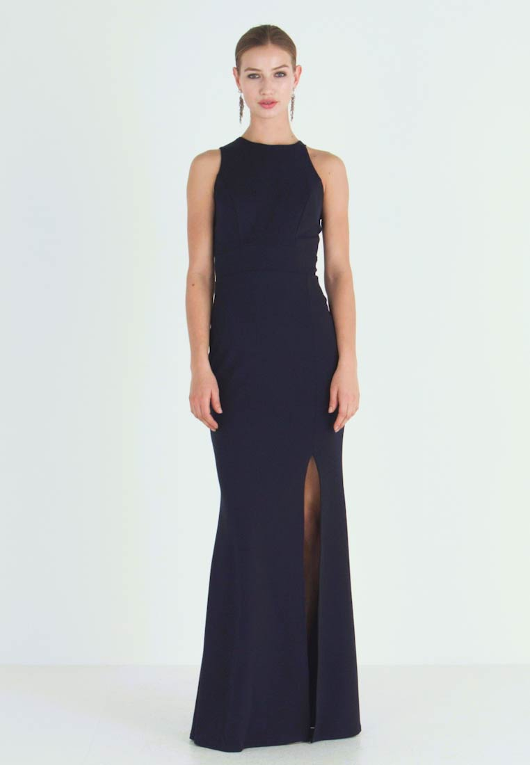 WAL G. - HIGH SPLIT MAXI DRESS - Robe de cocktail - navy - 1