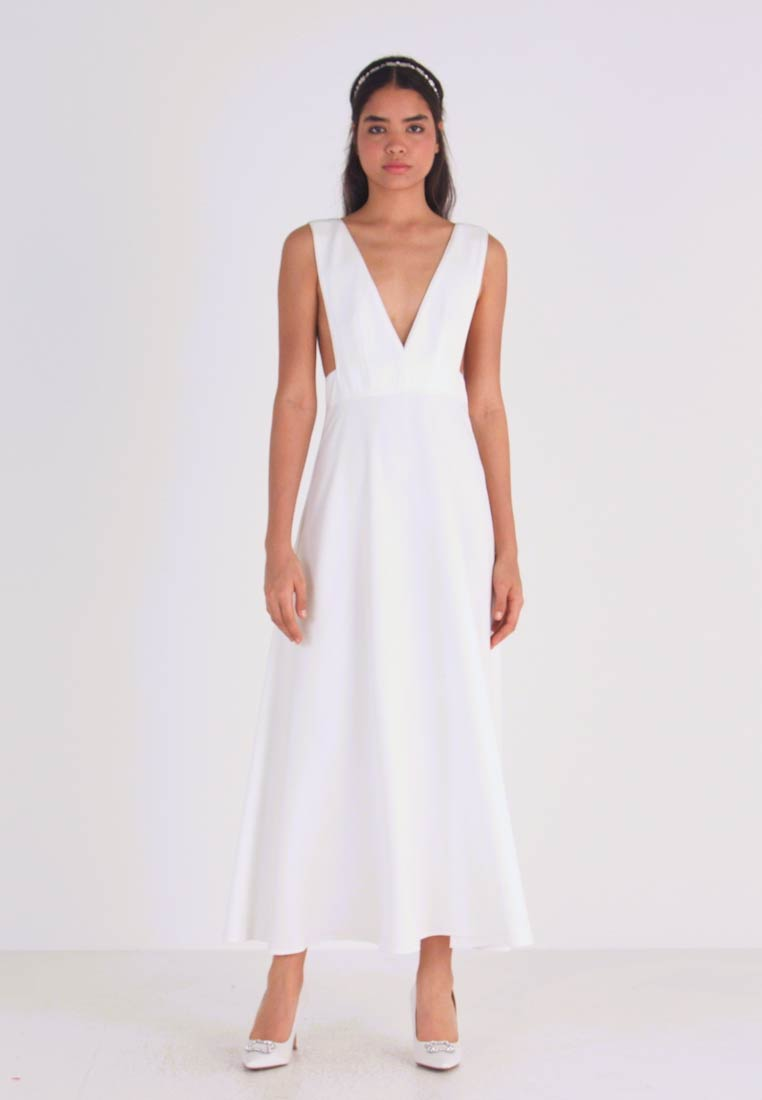 YAS - YASKATE ANCLE DRESS  - Occasion wear - star white - 1