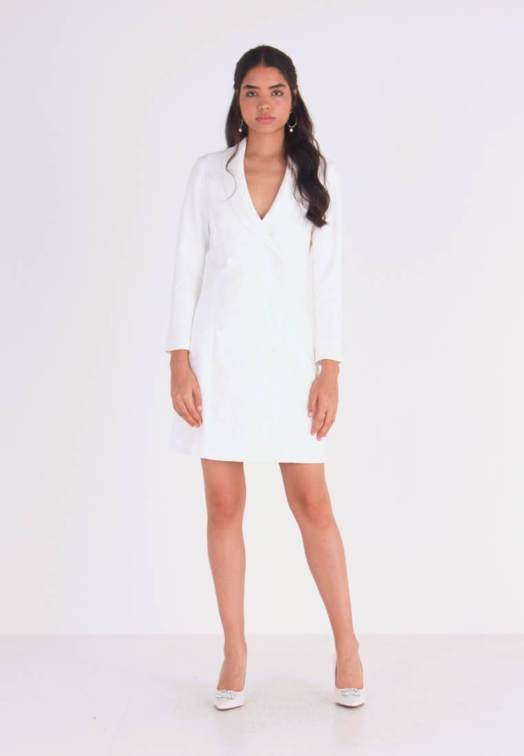 YAS - YASBLAIR BLAZER DRESS - Vestito estivo - star white - 1