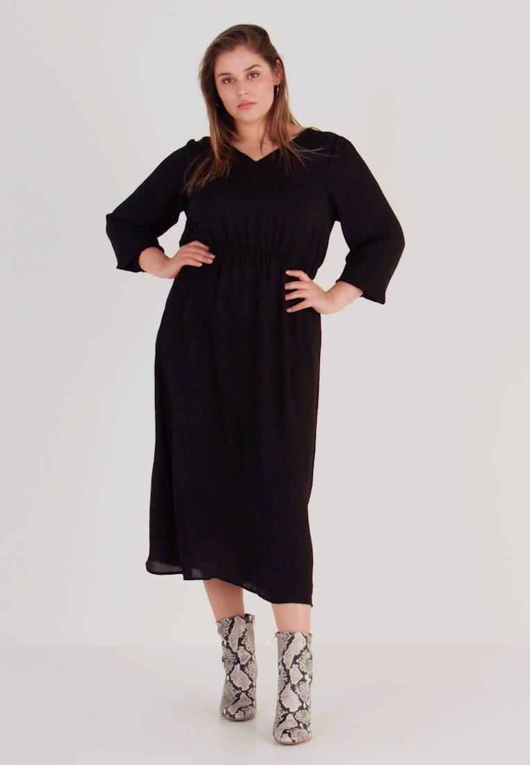 Zizzi - MPEYTON DRESS - Kjole - black - 1