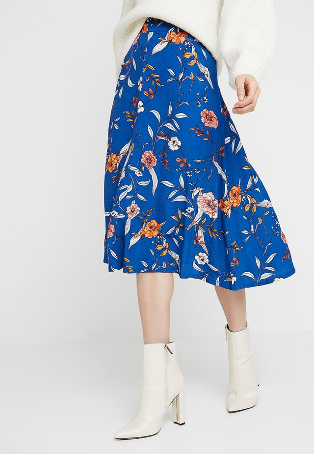 ALLY SKIRT - Gonna a campana - limoges blue