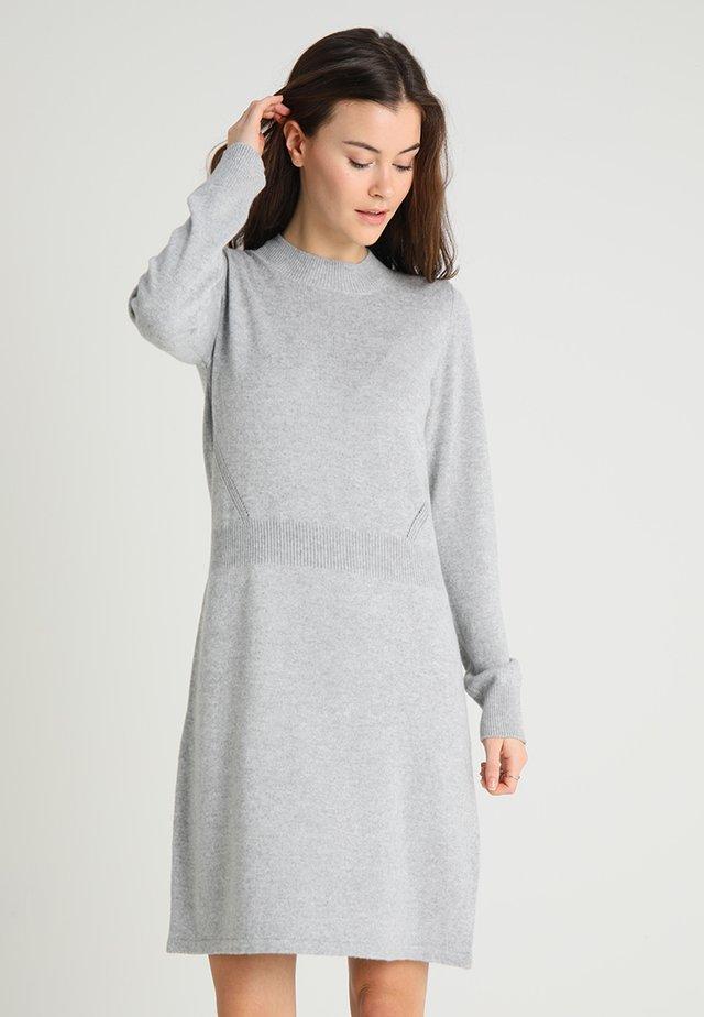 Strickkleid - grey melange