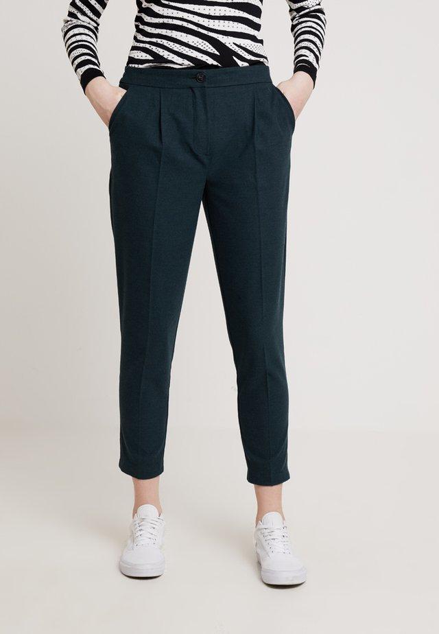 LOOK PULL ON - Spodnie materiałowe - dark green
