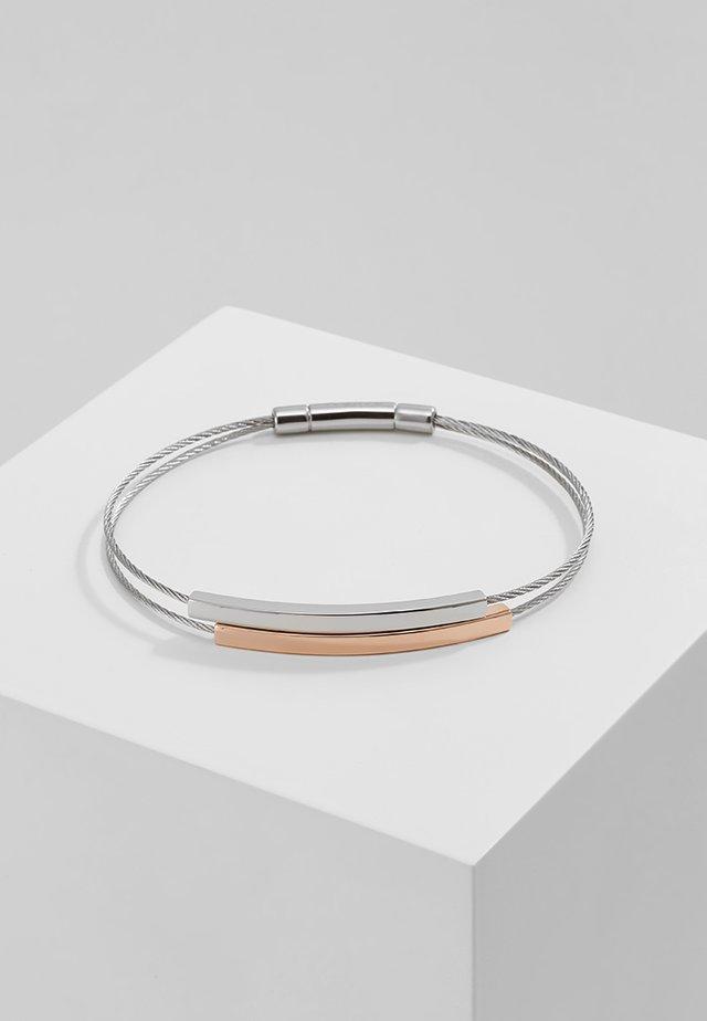 ELIN - Armbånd - silver-coloured/rosegold-coloured