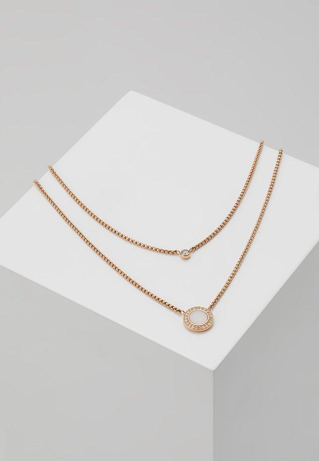 CLASSICS - Halskette - roségold-coloured