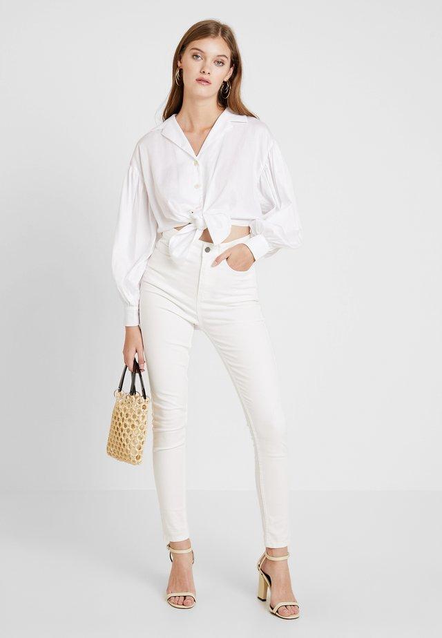 Jeans Skinny Fit - white denim