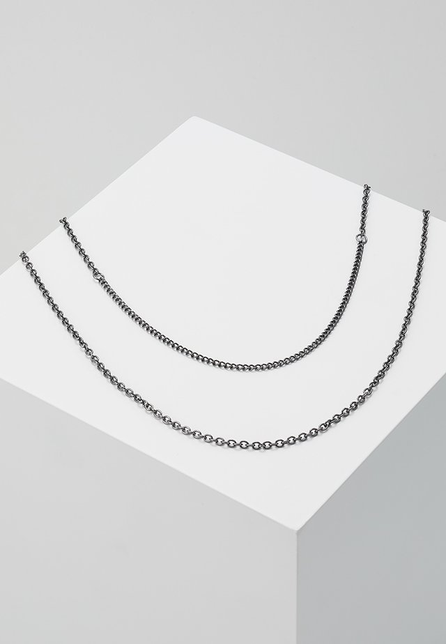 SNAKE IN THE BOX - Collier - grey