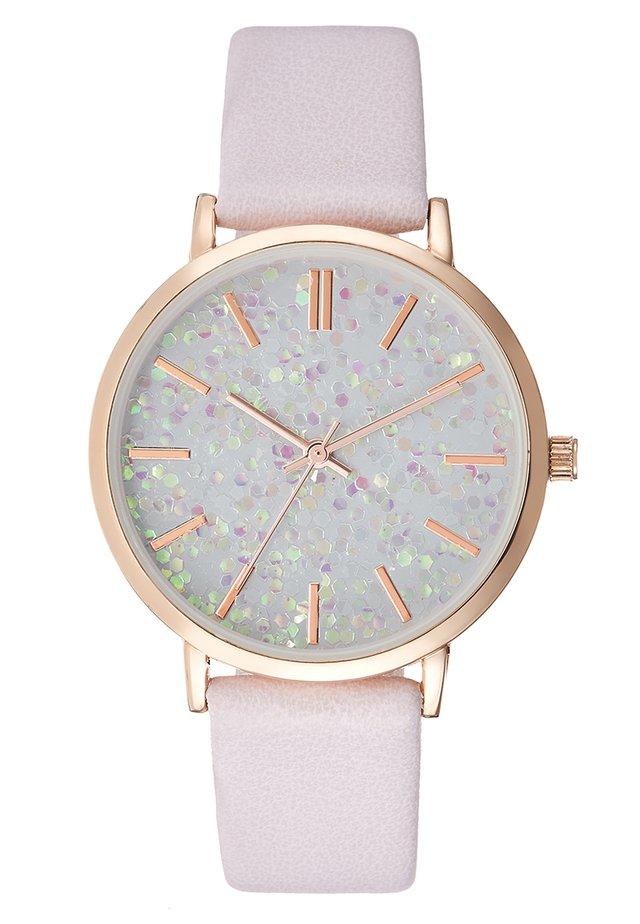 Horloge -  lilac
