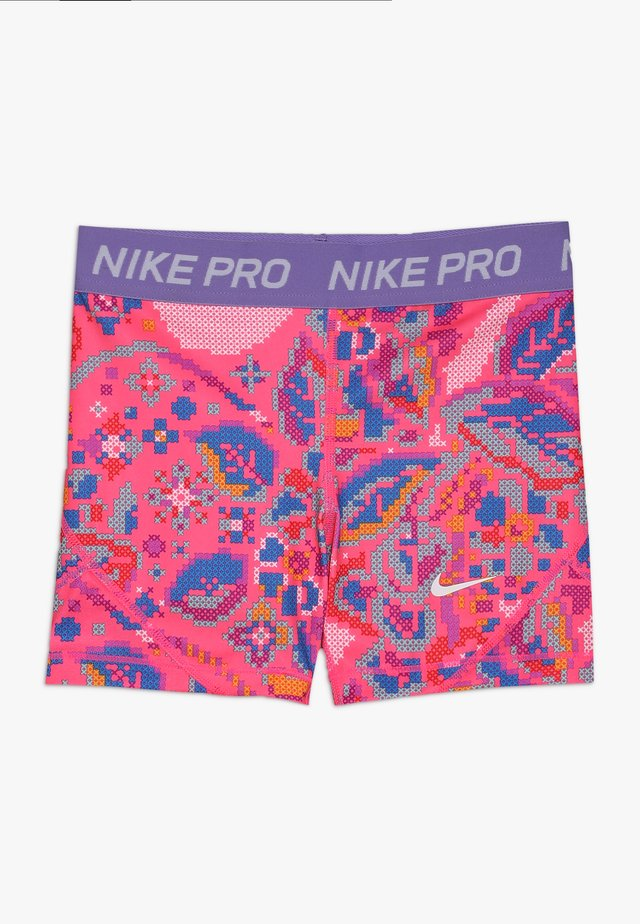 BOY SHORT FEMME - Tights - hyper pink/space purple/white