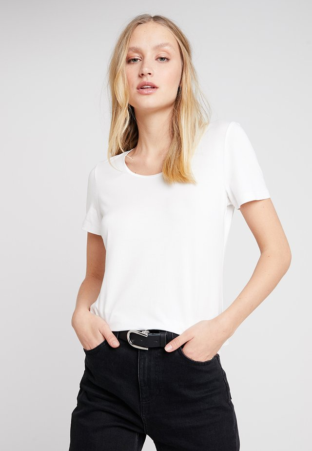 SLEEVE - T-shirt basique - off white