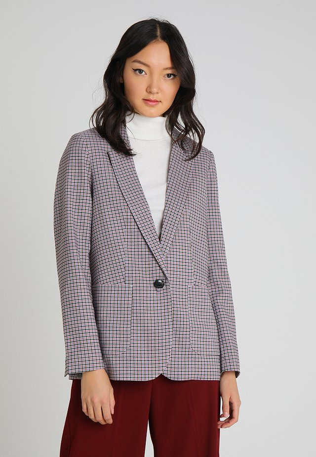 CHECK RELAXED - Blazer - beige/brown