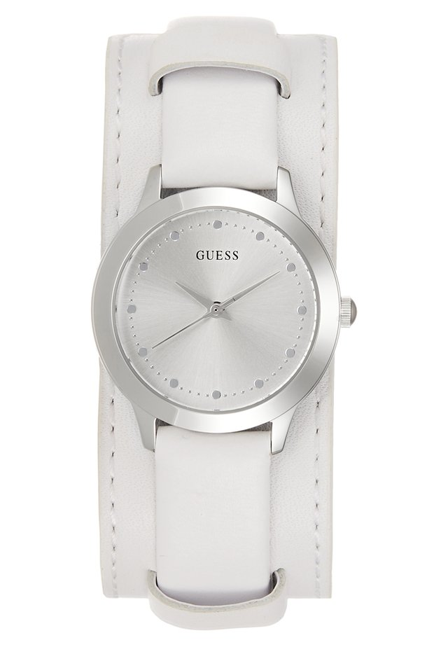 LADIES TREND - Watch - silver-coloured/white