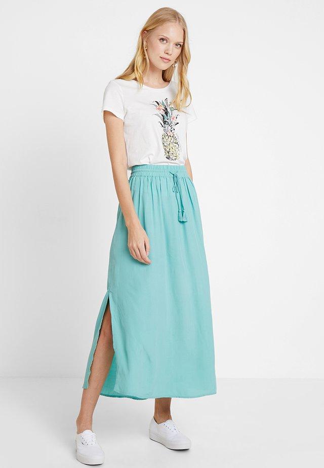Falda larga - canton green