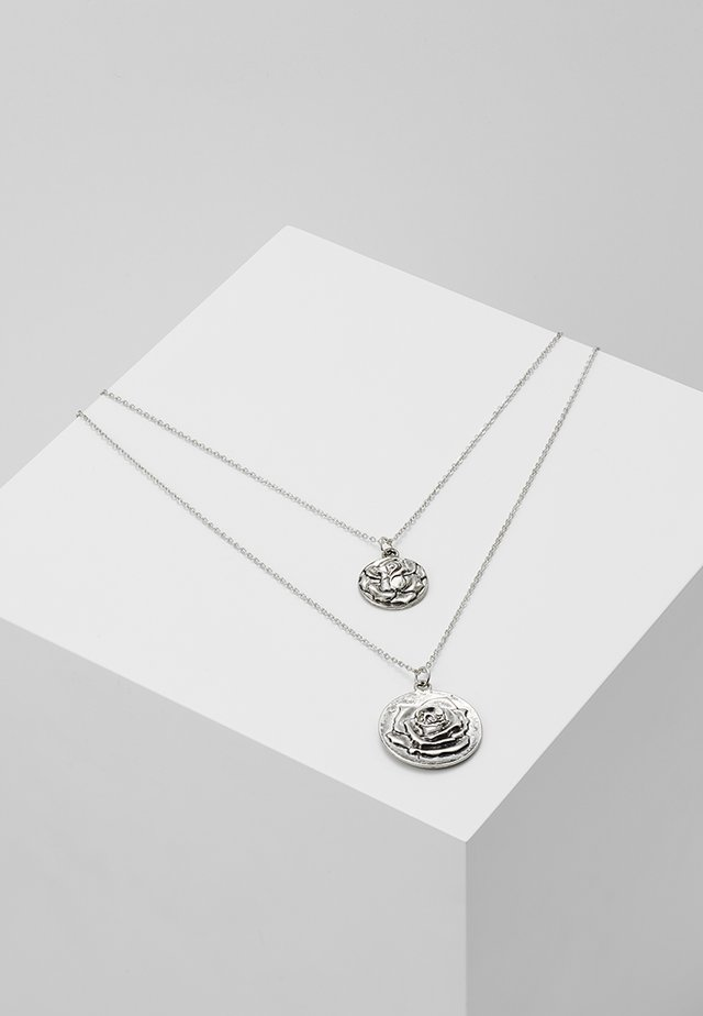 PCJUPI COMBI NECKLACE  - Smykke - silver-coloured