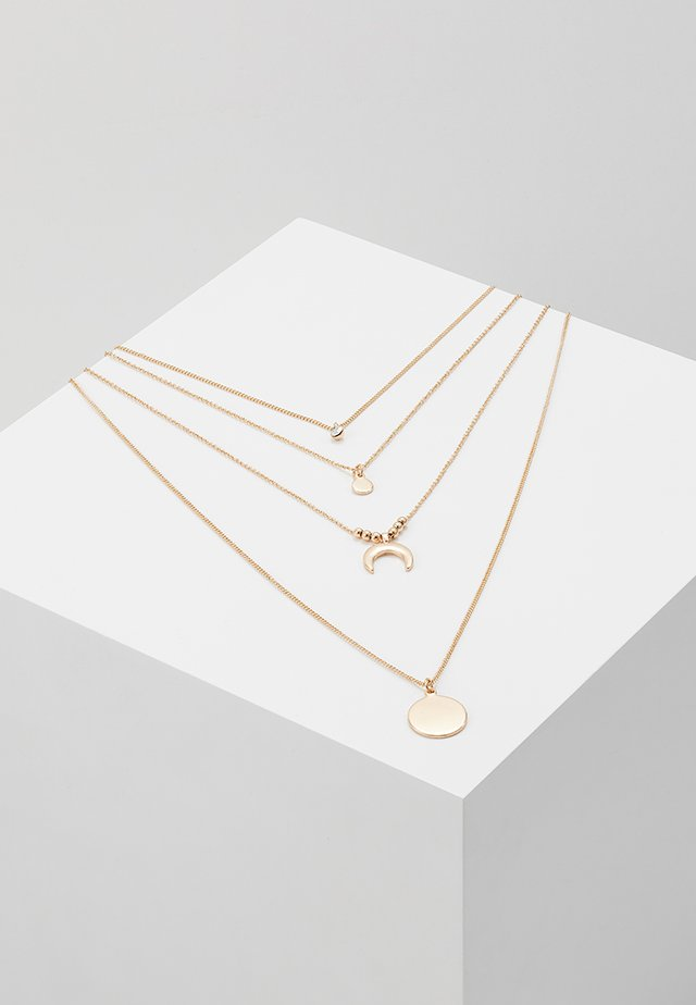 ONLLIZZA 4 CHAIN NECKLACE  - Necklace - gold-coloured