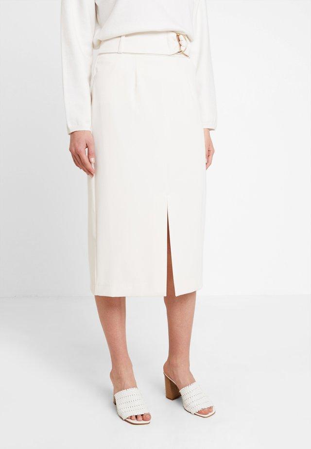 Pencil skirt - vanilla