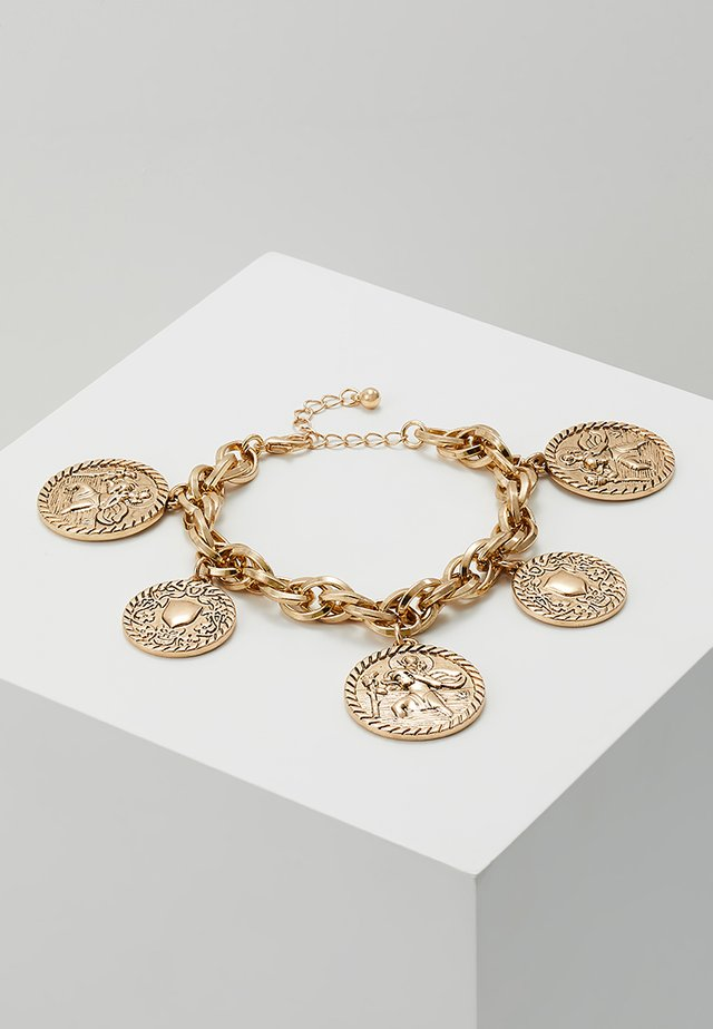 CHARM BRACELET - Armband - antique gold-coloured