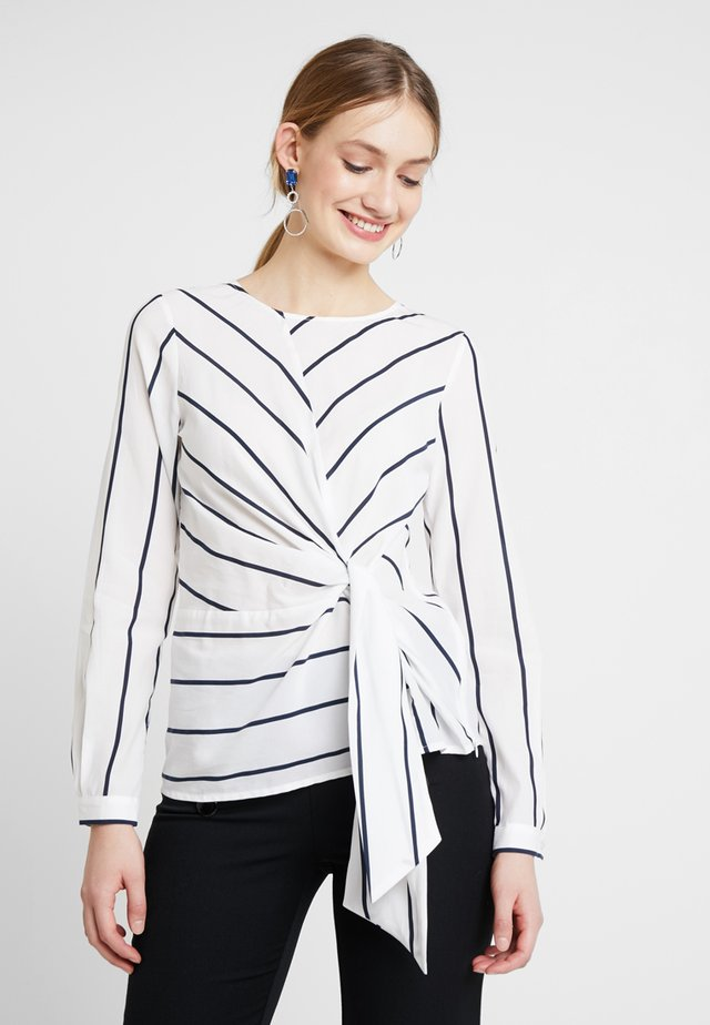 BLOUSE SLEEVE - Bluser - offwhite