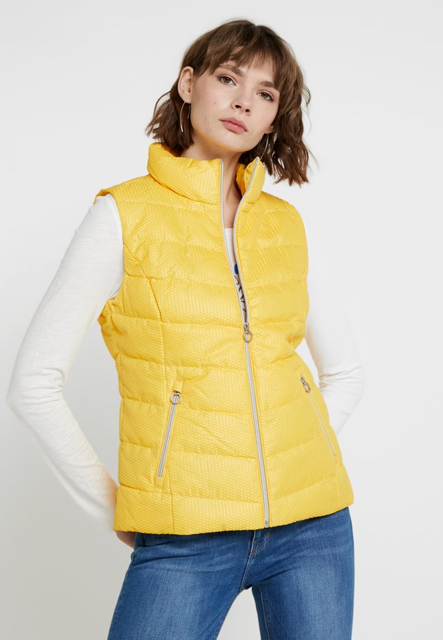 OUTDOOR - Veste sans manches - pure yellow