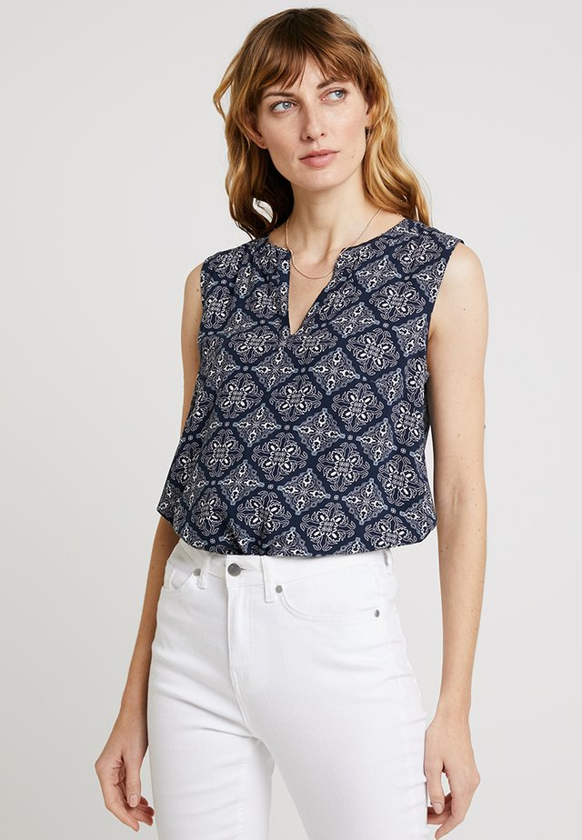 Blouse - navy/blue