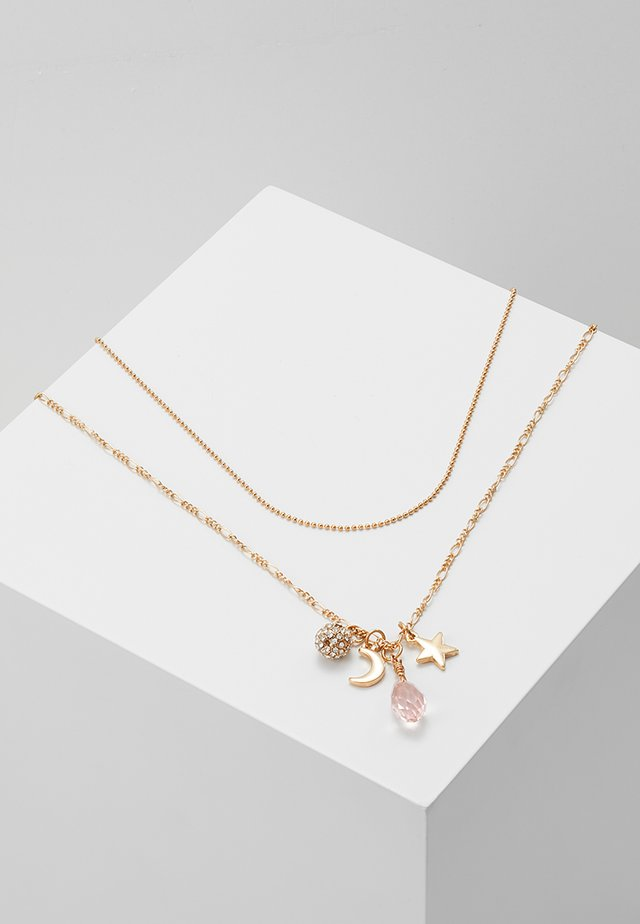 ONLHIRSE 2 CHAIN NECKLACE  - Collana - gold-coloured