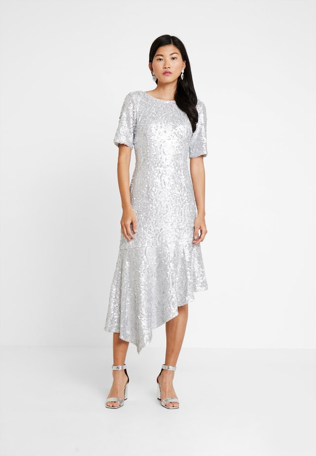 SEQUIN DRESS - Galajurk - silver