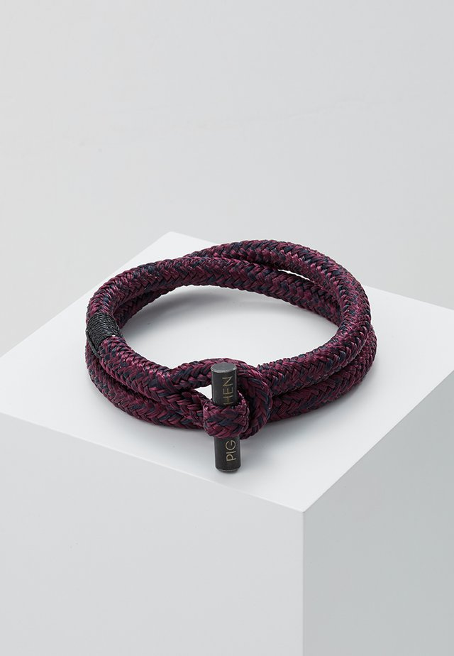 TINY TED - Armband - purple/black