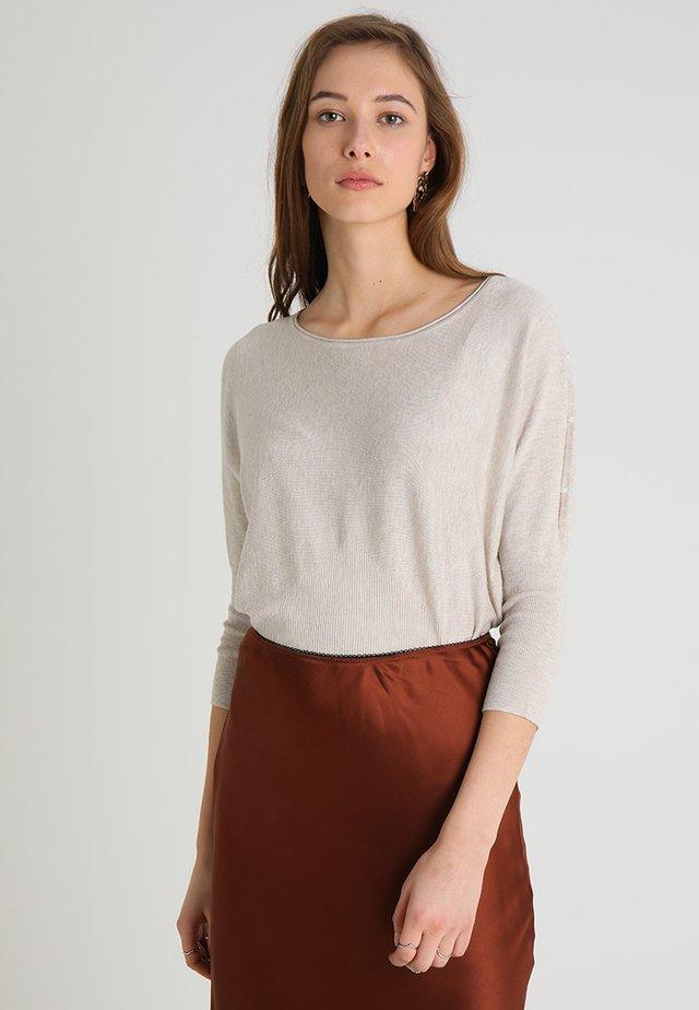 LANGARM - Pullover - beige