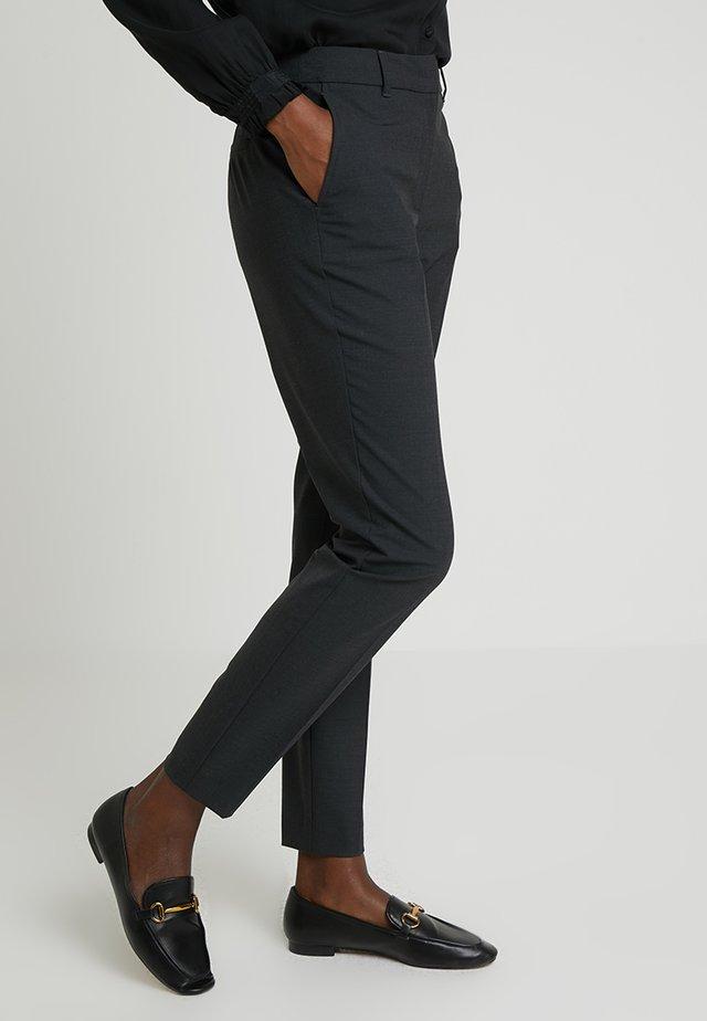 XENIA - Trousers - dunkelgrau