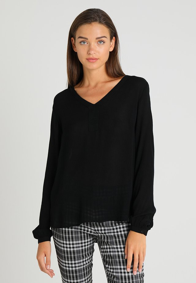 AMBER BLOUSE - Tunika - black