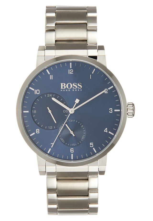 OXYGEN - Watch - silver-coloured/blue