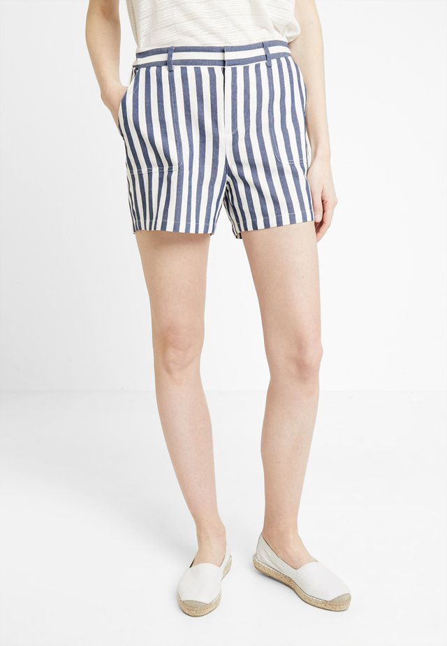 BOARDWALK STRIPE - Shorts - classic navy