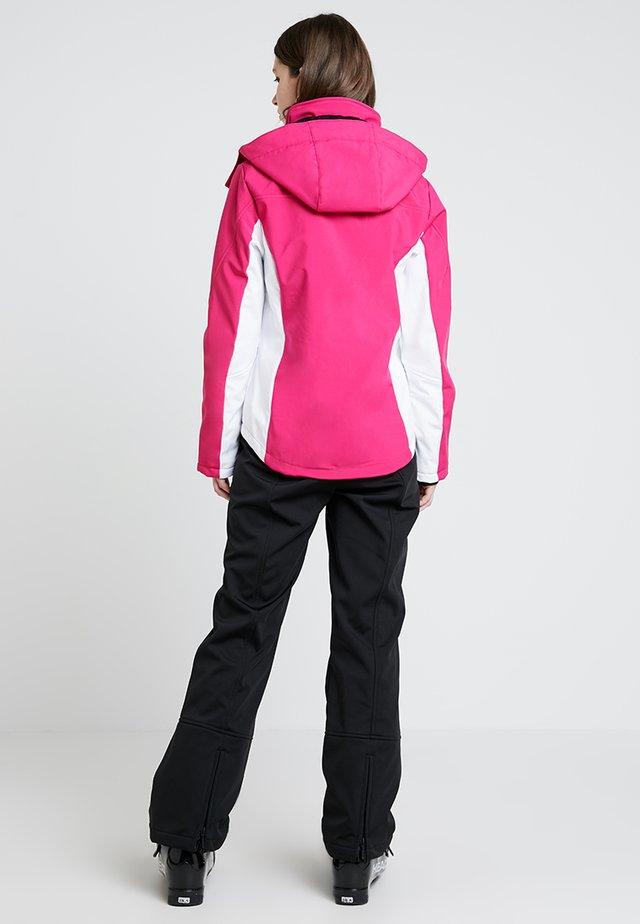 CONTRAST SKI JACKET - Outdoorová bunda - pink