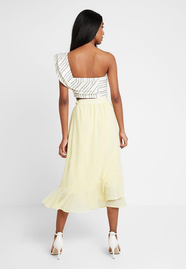 NOEL - A-snit nederdel/ A-formede nederdele - light yellow
