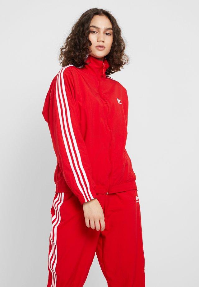 LOCK UP - Training jacket - scarlet