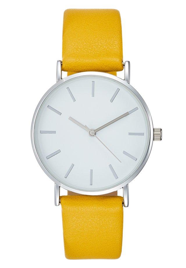 Montre - yellow