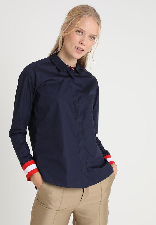 BLIMA - Button-down blouse - dunkelblau