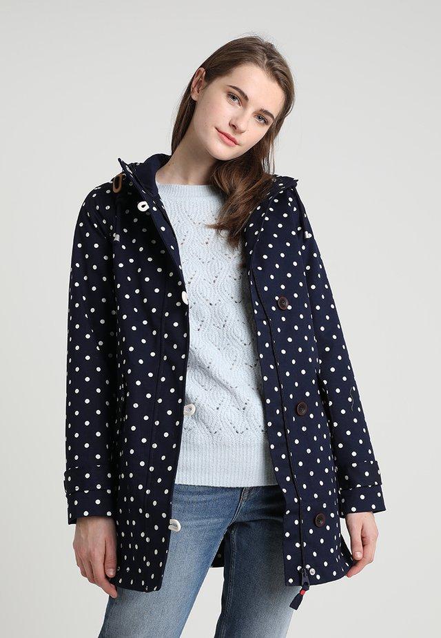 COASTMID PRINT - Short coat - dark blue