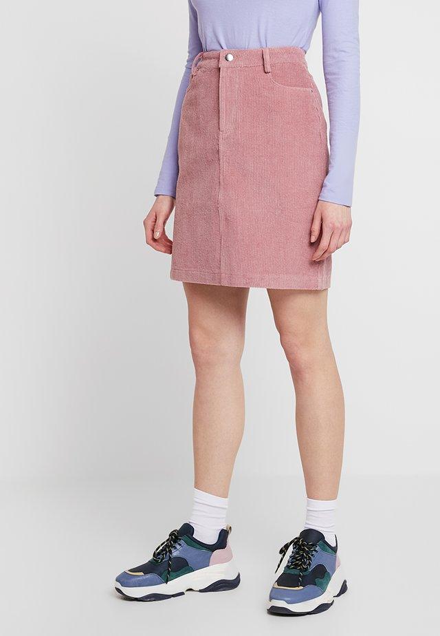 GILLA SKIRT - Mini skirt - blush