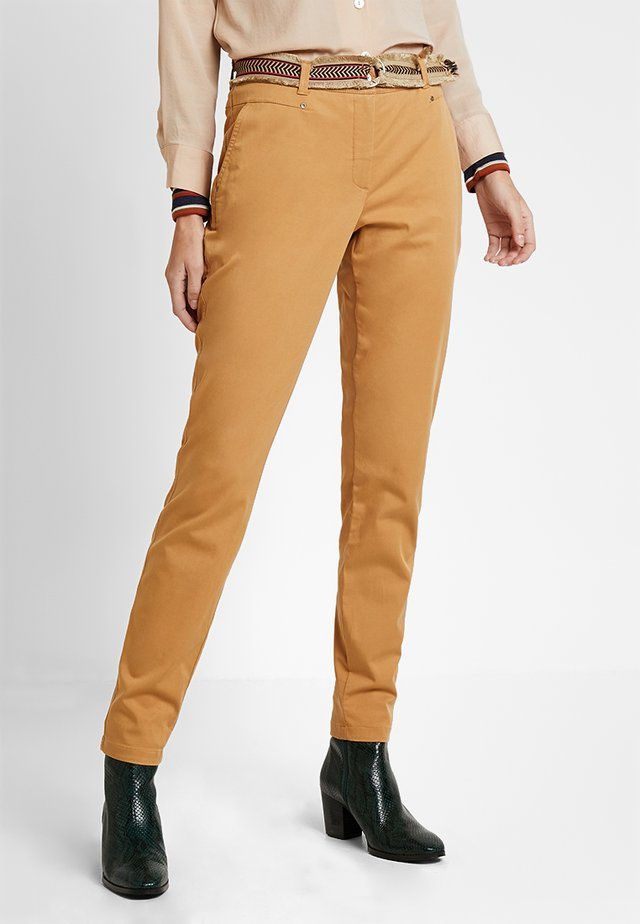 CELESTE - Trousers - camel