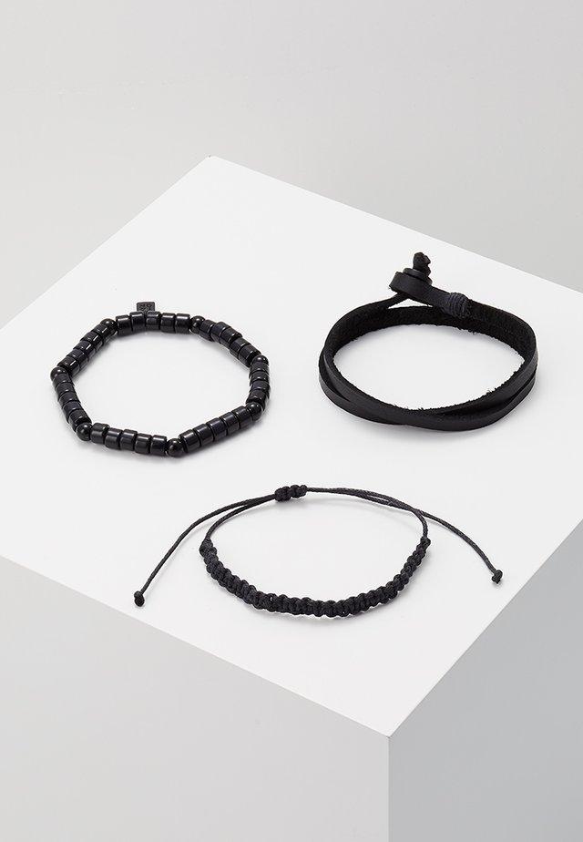 REAL DEAL COMBO - Bracelet - black