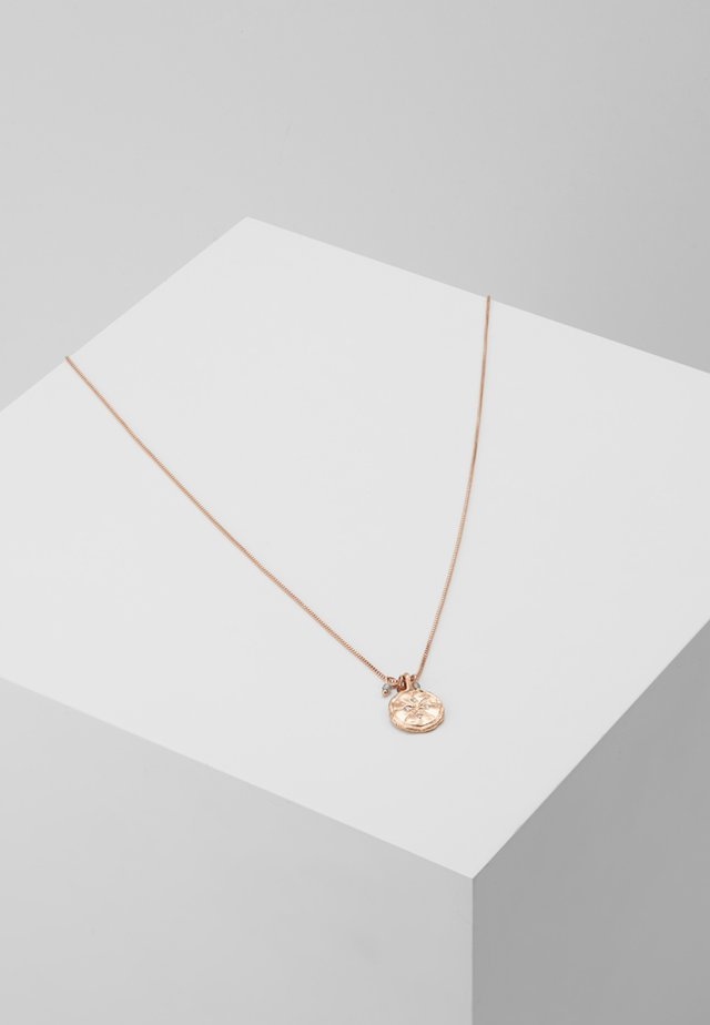 NECKLACE MYA - Halskette - rosegold-coloured