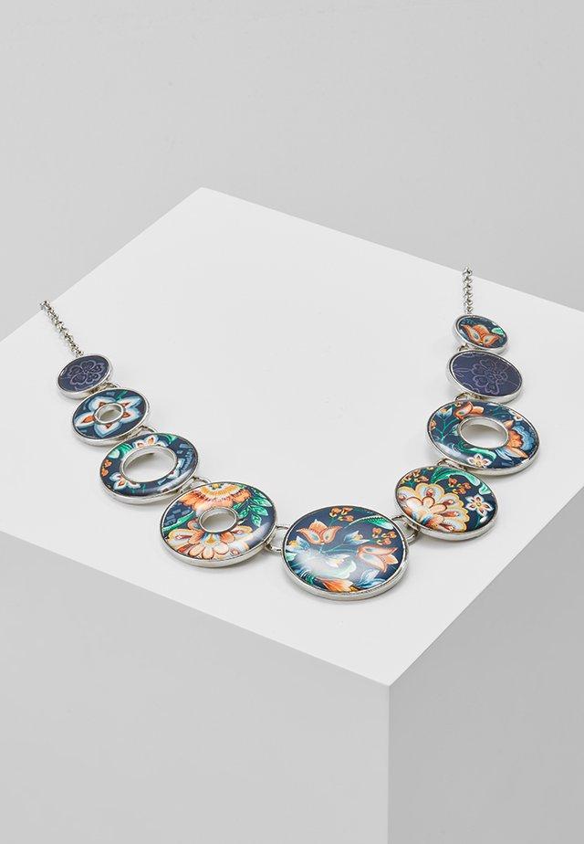 COLLAR KORA - Collier - silver-coloured/blue