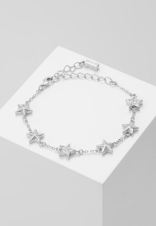 SHAENA PAVÉ SHOOTING STAR CLUSTER BRACELET - Bracciale - silver-coloured