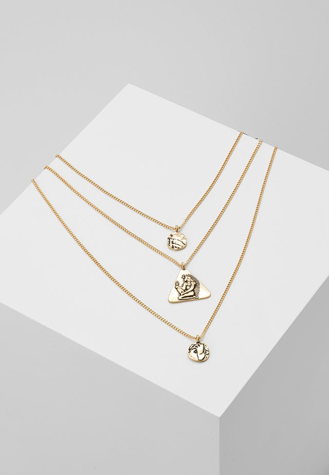 GALA NECKLACE - Halskette - gold-coloured