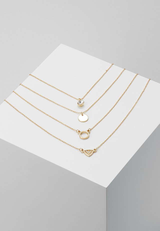ONLMASI CHAIN NECKLACE 4 PACK - Collar - gold-coloured