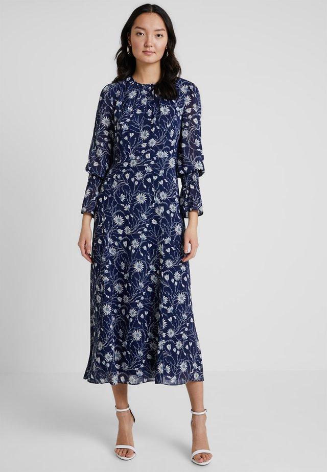 Vestito lungo - true blue